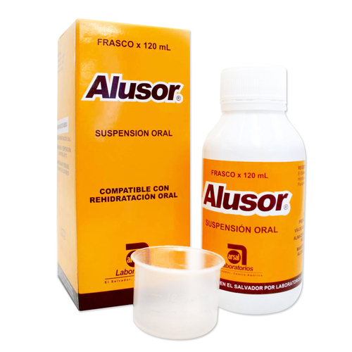 ALUSOR SUSPENCION X 120 ML