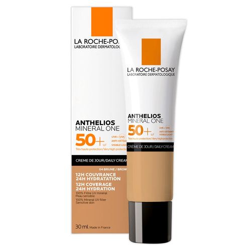 ANTHELIOS MINERAL ONE FPS 50+ TONO BRUNE 04 30ML